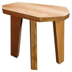 "Oak Side Tables by Jacques Jarrige ""Nazca"""