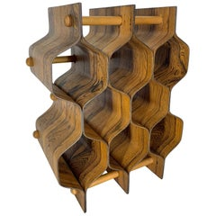 Torsten Johansson Swedish Rosewood Wine Rack