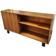 George Nelson Walnut Bookcase with 1-Door for Herman Miller
