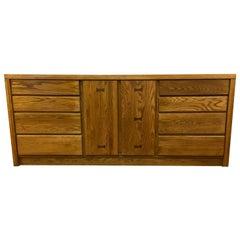 Mid-Century Modern Conant Ball Dresser Buffet Sideboard Server