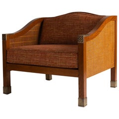 Louis Cane, One of a Trio of Armchairs, France, Early 21st Century
