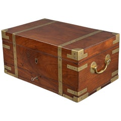 Rare Naval Campaign Tea Safe or Chest