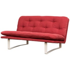 Kho Liang Ie C684 Loveseat for Artifort in Raspberry