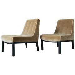 Edward Wormley for Dunbar Slipper Chairs