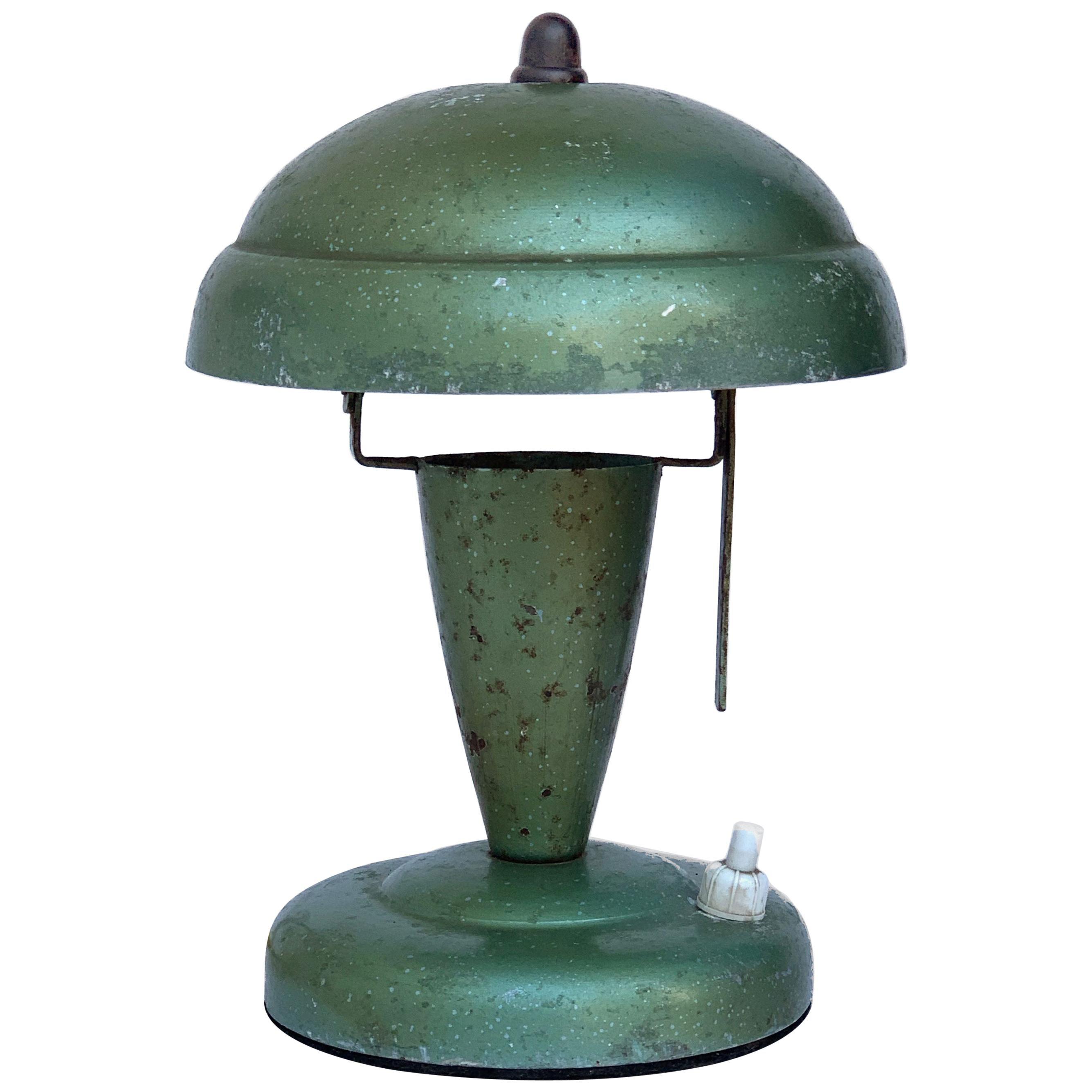 Art Deco Bedside Lamp, Attributable to Fog and Mørup 1930s, Lamp Table