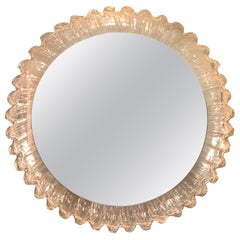 Illuminated Sunburst Mirror by Erco