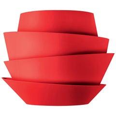 Foscarini Le Soleil Wall Lamp in Red by Vicente Garcia Jimenez