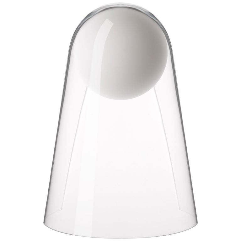Foscarini Satellight Wall Lamp in White and Transparent by Eugeni Quitllet For Sale