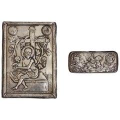 Russian Silver Icon, Stamped/Signed, 19th Century