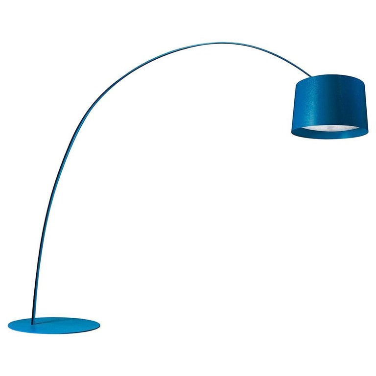 Foscarini Twice as Twiggy LED Floor Lamp in Indigo by Marc Sadler For Sale