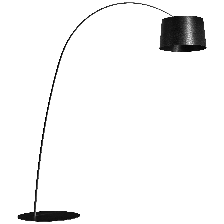 Foscarini Twiggy Floor Lamp in Black by Marc Sadler