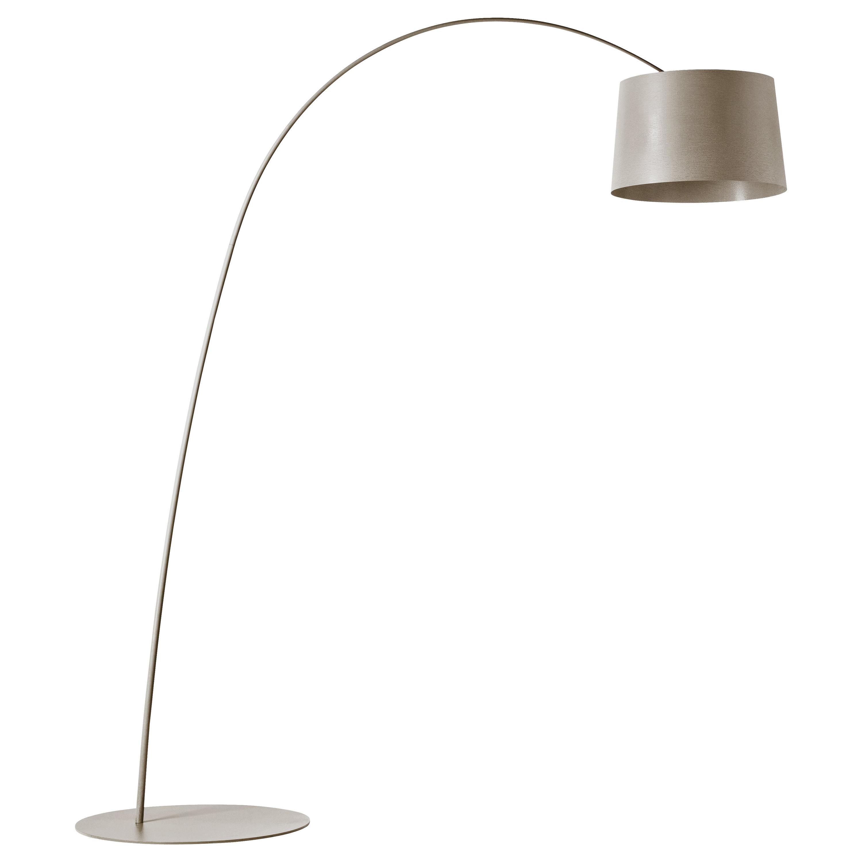 Foscarini Twiggy Floor Lamp in Greige by Marc Sadler