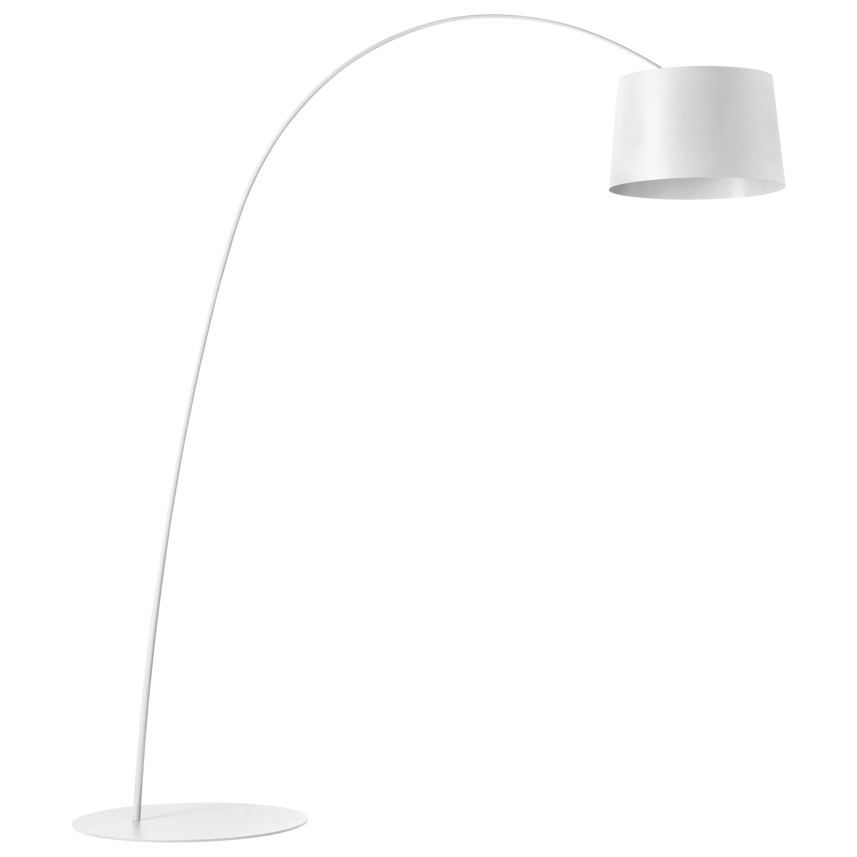 Foscarini Twiggy Floor Lamp in White by Marc Sadler
