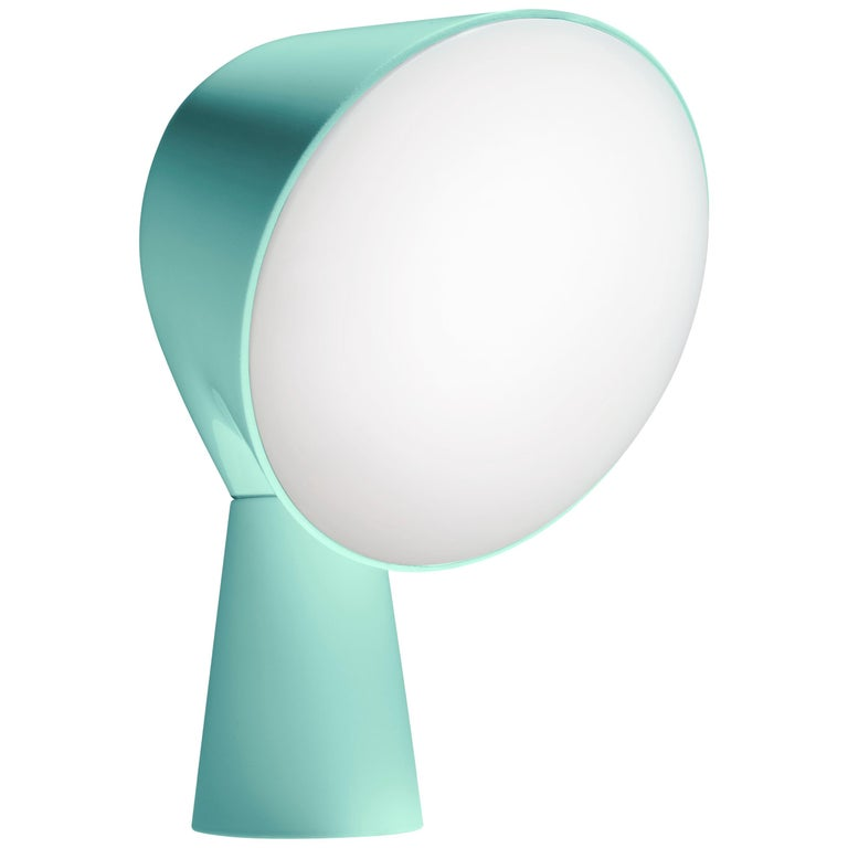 Foscarini Binic Table Lamp in Aquamarine by Ionna Vautrin For Sale