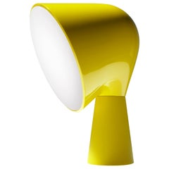 Foscarini Binic Table Lamp in Yellow by Lonna Vautrin