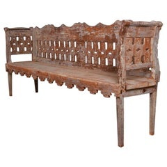 Original Painted Tryleon Bench