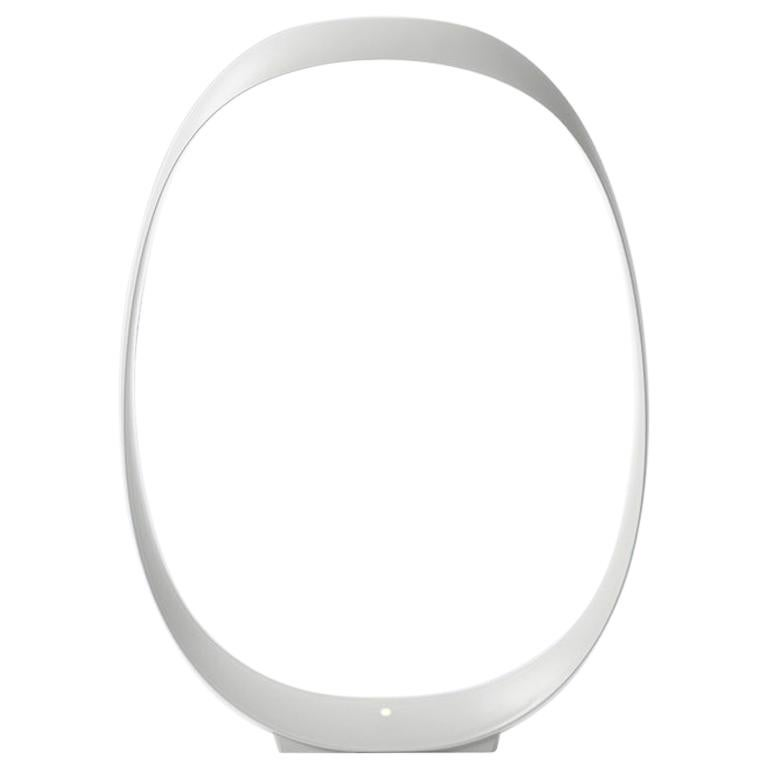 Foscarini Anisha Small LED Table Lamp in White by Lievore, Altherr, and Molina For Sale