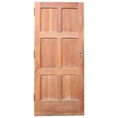 Exterior English Oak Six-Panel Door