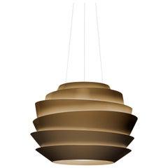 Foscarini Le Soleil Suspension Lamp in Bronze by Vicente Garcia Jimenez