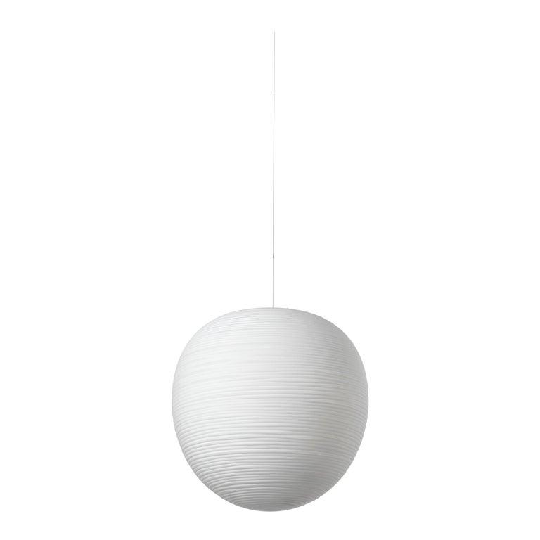 Foscarini Rituals XL LED Suspension Lamp in White by Ludovica & Roberto Palomba For Sale