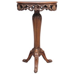 19th Century French Walnut Occasional Table