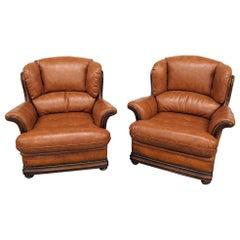 Pair of Modern Design Club Chairs