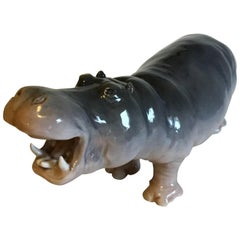 Royal Copenhagen Figurine of Hippopotamus No 309