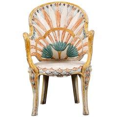 Art Deco Egyptian Revival Chair