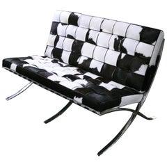 Pony-Doppelsitz-Sofa