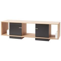 Low Oak Double TV Sideboard 100% Solid French Oak