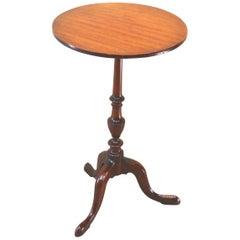 English 18th Century Georgian Mahogany Antique Wine Table