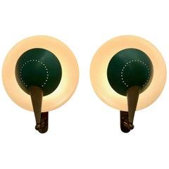 Pair of Adjustable Sconces Model No. B 4917
