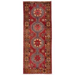 Vintage Turkish Anatolian Runner Rug