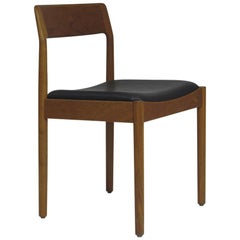 Danish Teak Dining Chairs, Set of 4