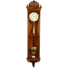 Lenzkirch Vienna Regulator Wall Clock