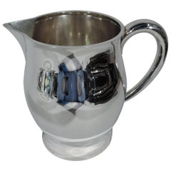 American Colonial Revere Sterling Silver Water Pitcher by Tuttle