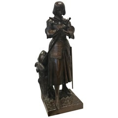 Joan of Arc Bronze by Marie D'Orleans