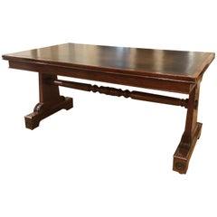 Regency Mahogany Library Table