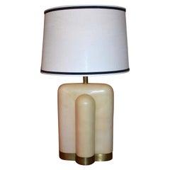 Single Parchment Table Lamp