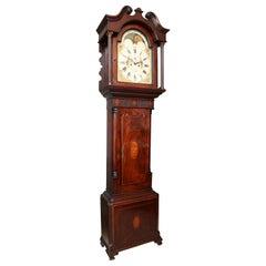 Superb George III Mahogany Tall Case Clock