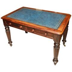Superb 19th Century English Mahogany Desk