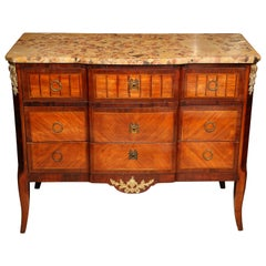 Superb 19th Century French Commode with Marble Top