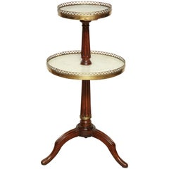 French Directoire Side Pastry Table