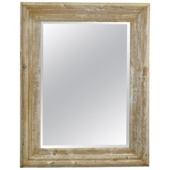 Pair of French Pine and Gesso Mirrors