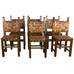 Spanish Style Dining Chairs