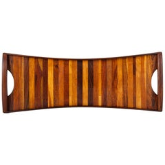 Narrow Striped Tray by Don Shoemaker for Señal
