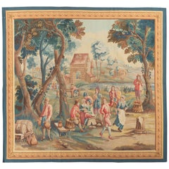 Brussels 18th Century Teniers Style Tapestry