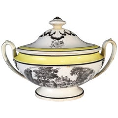 Choisy Faience Soup Tureen