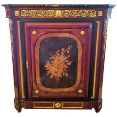 19th Century Louis XVI Style Cabinet in the Manner of Grohe Freres