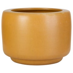 CP-13 Tire Planter by John Follis for Architectural Pottery in Yellow Glaze